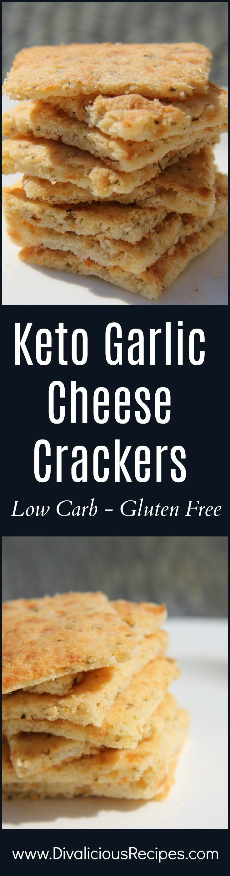 An easy low carb and gluten free cracker made with coconut flour and cheese.