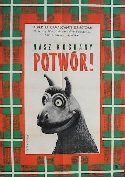 Designer: Raducki. 1963. Title: The Monster of Highgate Ponds. £100.