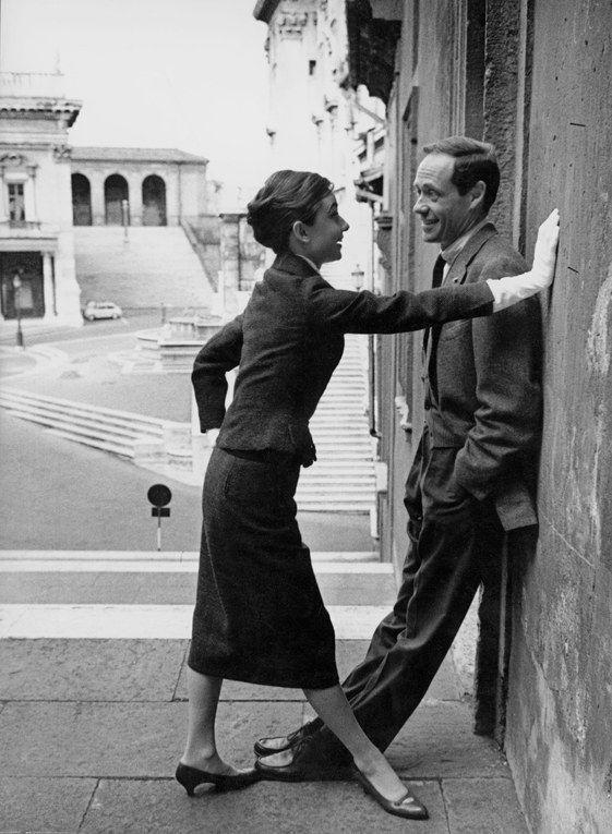Audrey Hepburn and Mel Ferrer - 1958