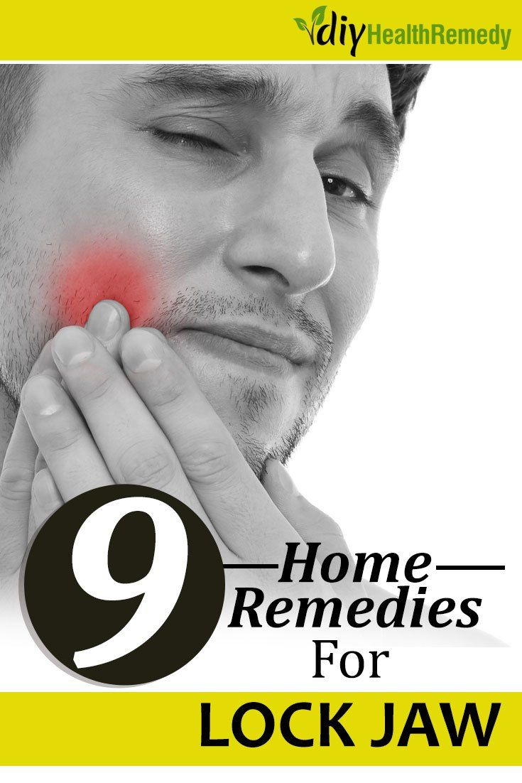 9 home remedies for lock jaw with images lock jaw