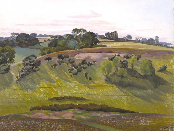 John Nash 'A Suffolk Landscape', c.1936–7 © The estate of John Nash. All Rights Reserved 2010 / Bridgeman Art Library