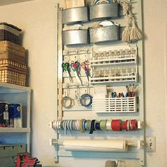 Uses for Old or Recalled Cribs?..great idea for my craft room