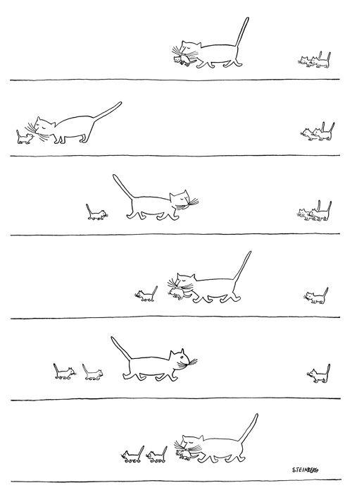A New Yorker e os gatos