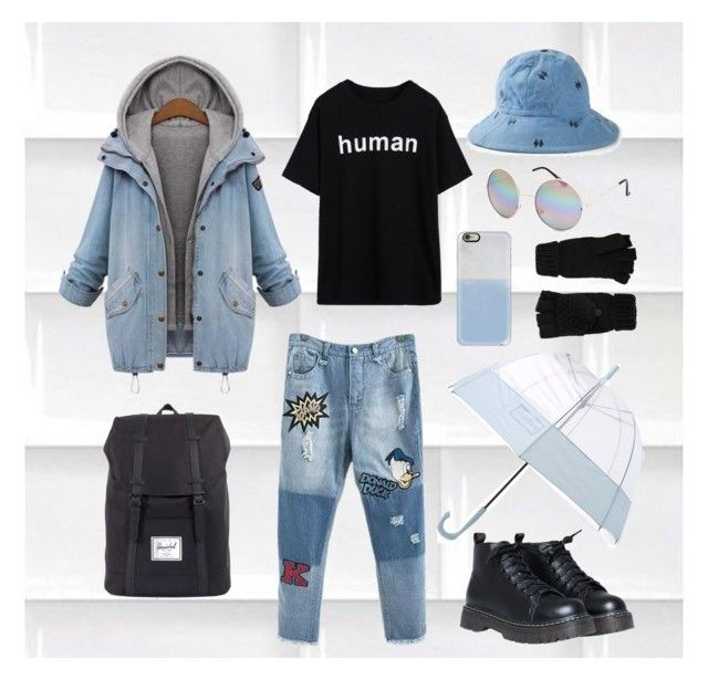 """cara03"" by ocrapschorkcytapunkap on Polyvore featuring Amaya, Herschel Supply Co., Full Tilt, Accessorize, Hunter and Casetify"