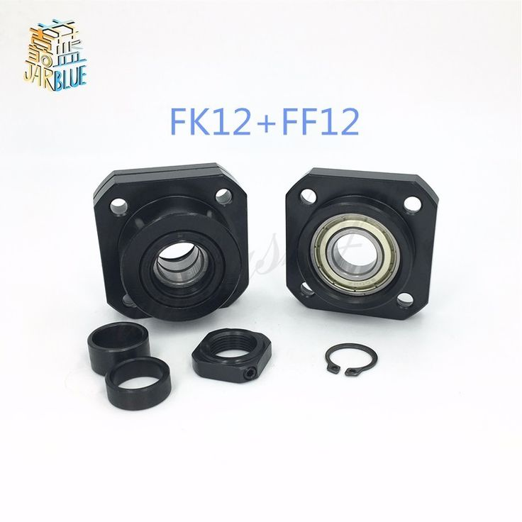 FK12 FF12 Support for 1605 1604 1610 set :1 pc FK12 Fixed Side +1 pc FF12 Floated Side CNC parts Woodworking Machinery Parts //Price: $8.19//     #gadgets