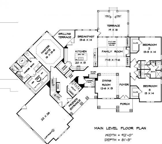 17 best house building floor plans images on pinterest house Hgtv Lake House Plans biltmore park house plan floorplans blueprints hgtv lake house plans