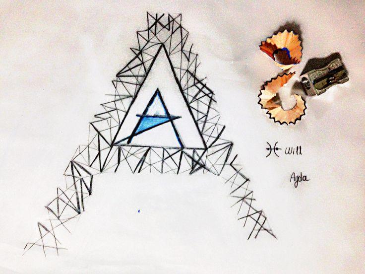 Triangles / A / Blue / Ayda