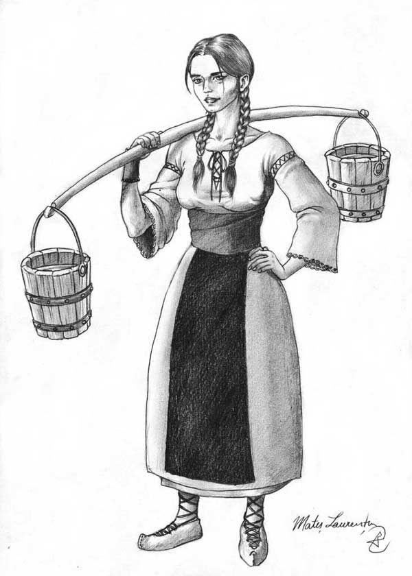Dacian girl.