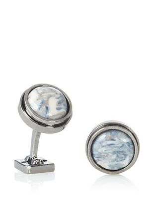 Ike Behar Artisan Grey Ceramic Cufflinks