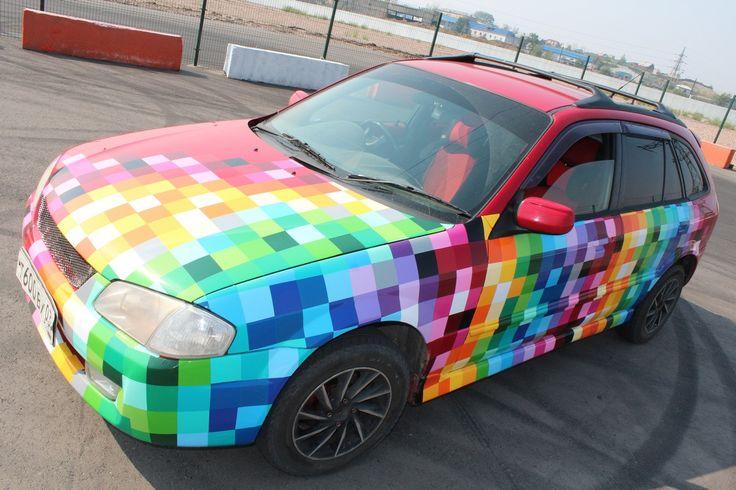 #vinil #avtovinil #RGB #Mazdafamilia