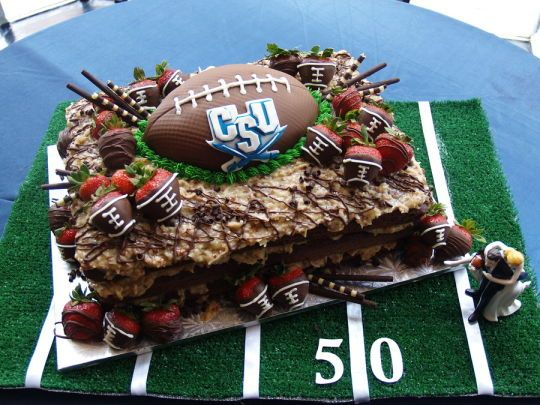 17 Best Ideas About Football Grooms Cake On Pinterest