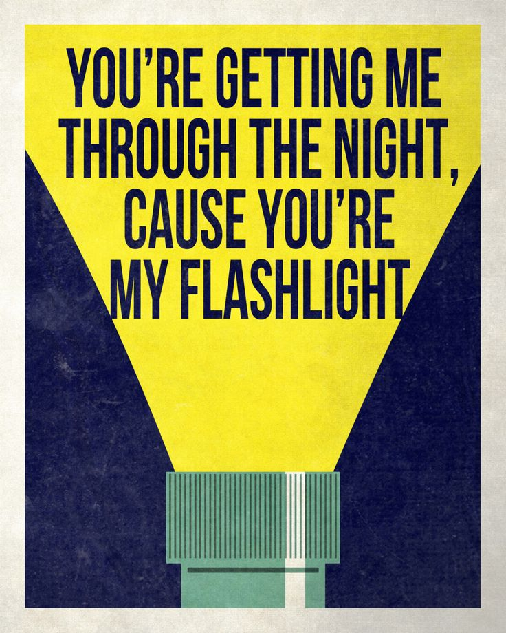 You're My Flashlight Print-Inspired by Pitch Perfect 2-8x10 by TannerRamptonDesigns on Etsy https://www.etsy.com/listing/233750709/youre-my-flashlight-print-inspired-by