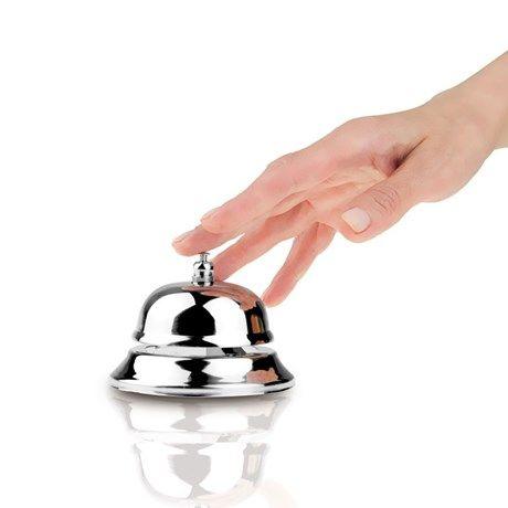 Spar stemmen – bruk en ringeklokke når du vil bli hørt!