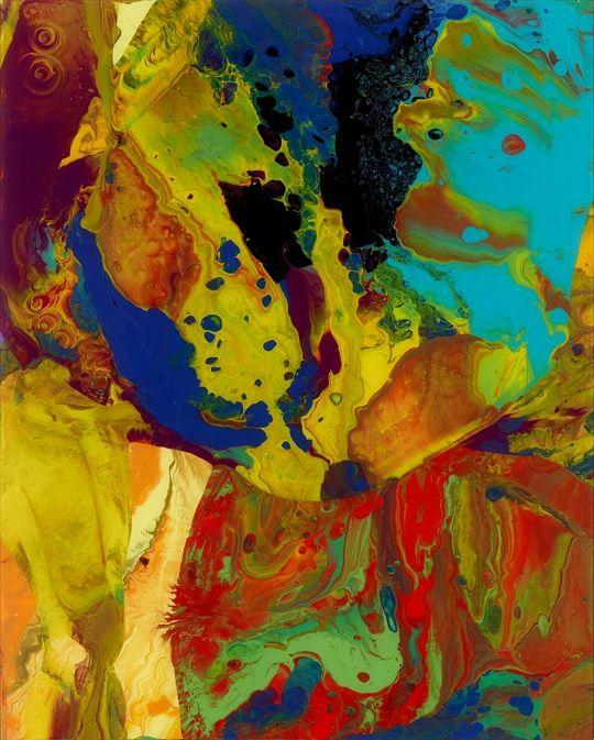 Gerhard Richter ~ Baghdad, 2010