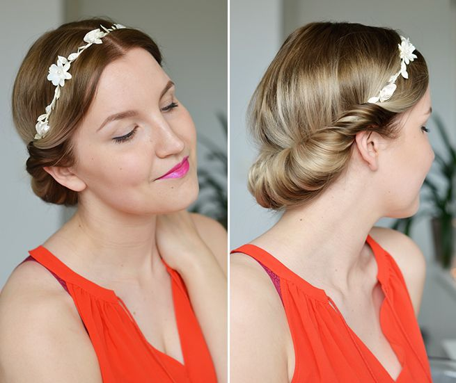 4 ways to use a floral headband