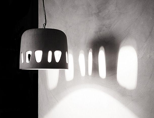 Luna  concrete pendant lamp design Urbi et Orbi 2015