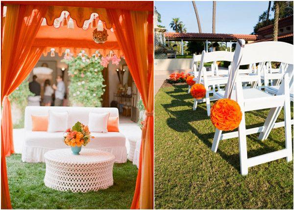 ... Orange hochzeitstafelaufsätze, Oranges rosenbouquet und Orange