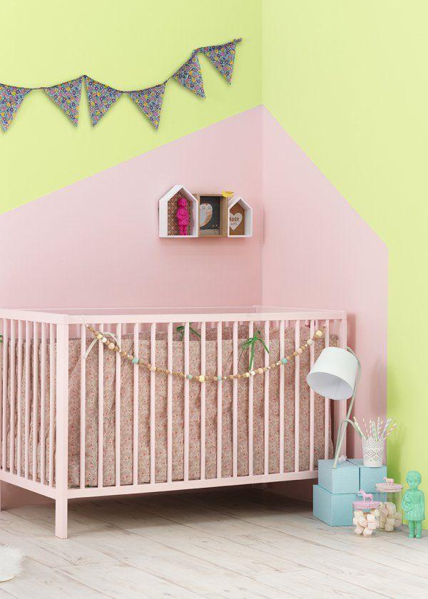 Chambre d'enfant / Kids room/ Couleur: Zolpan lance sa collection peintures pour les chambres de bébé - Marie Claire Maison