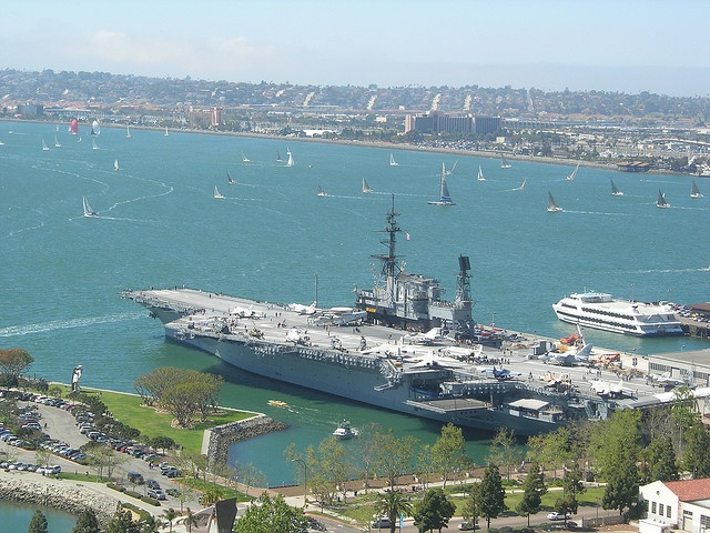 USS Midway aircraft carrier - Go inside the USS Midway and then spend the rest of the day exploring San Diego on our San Diego Tour!