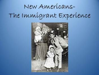 immigrant experience in america Invited audience members will follow you as you navigate and present people invited to a presentation do not need a prezi account this link expires 10 minutes after.
