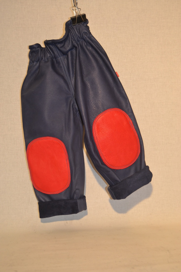 handmade leatherpants for kids