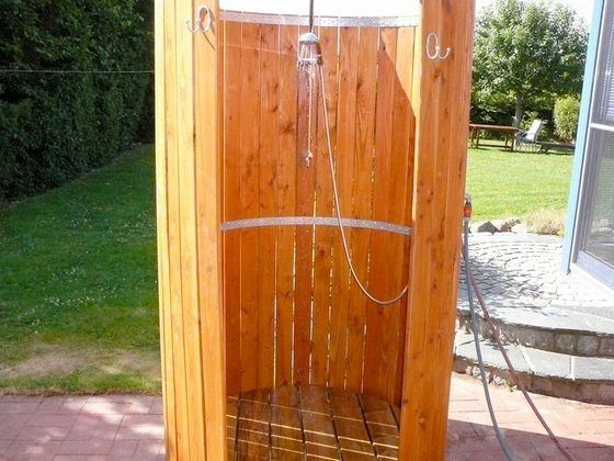 Outdoor Dusche Sichtschutz : Mobile Outdoor Shower