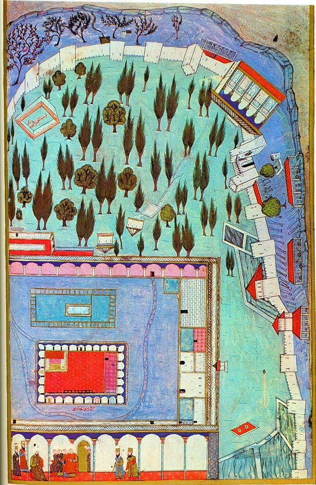 Topkapi Sarayi in time of Selim I