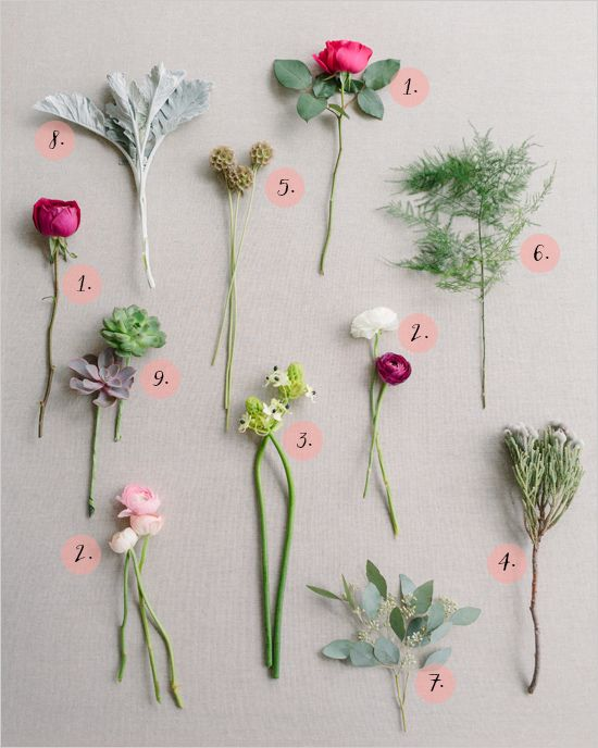 How to make a pretty spring bouquet  #diy #bouquet #weddingchicks http://www.weddingchicks.com/2014/03/12/pink-and-green-bridal-bouquet/