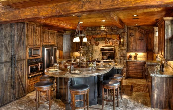 Unique rustic home decor rustic dining room design ideas for Rustic house ideas