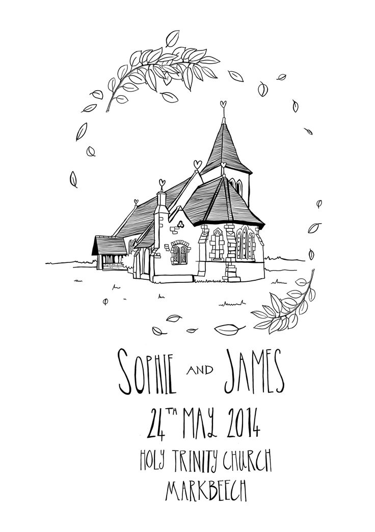 Beautiful Illustrated Order of Service for a gorgeous wedding.  It's lovely to have your venue illustrated, with gorgeous detail. #wedding #illustration #orderofservice  (source: http://story-house.co.uk)