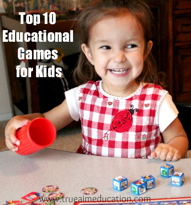 Top 10 educational games for kids that the whole family will enjoy!