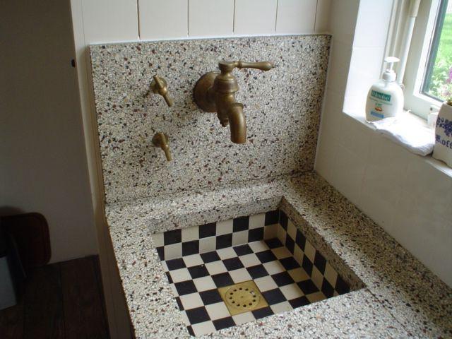 17 beste ideeën over Granieten Badkamer op Pinterest  Granieten aanrecht bad # Wasbak Hoogte_094826