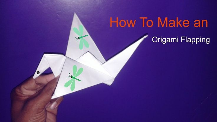 How To Make an Origami Flapping Bird #goodnutrition #physicalactivity #goodfood #vegetables #JuicePlus #healthymeal #healthyfood #healthy #health #exercise #eatclean