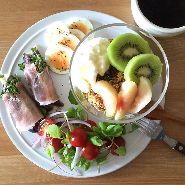 Kei Yamazaki @keiyamazaki Today's breakfast...Instagram photo | Websta (Webstagram)