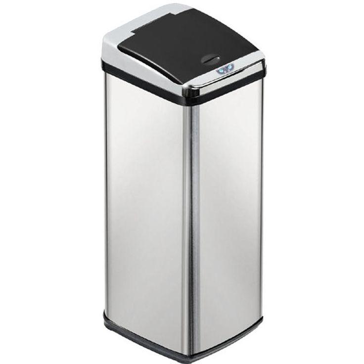 Inmotion 58L Stainless Steel Auto Sensor Kitchen Waste Dust Bin-Mybathroom.co.uk