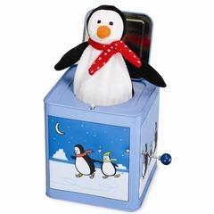 Penguin Jack in the Box