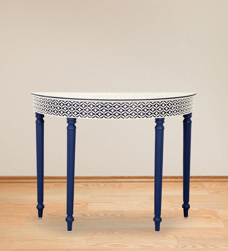 buy kairava console table with camel bone inlay work by mudramark online shop from wide
