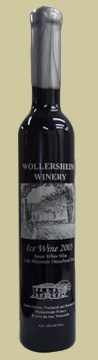 Wollersheim Ice Wine (Eiswein) is handmade in Wisconsin by the age-old process