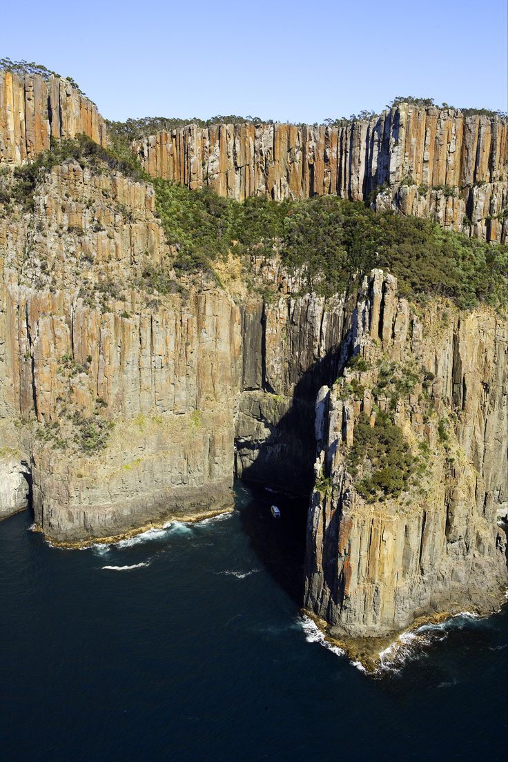 Cliffs at South Bruny National Park, Bruny Island