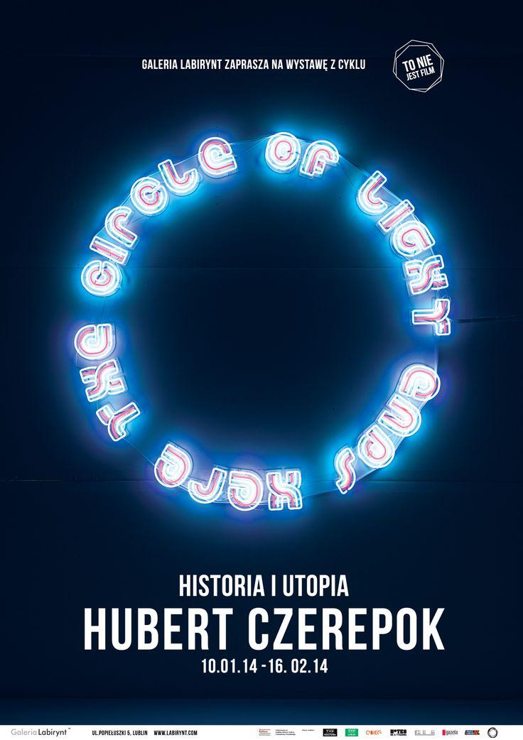 """""""Historia i utopia"""" Hubert Czerepok, wystawa z cyklu """"To nie jest film"""""""