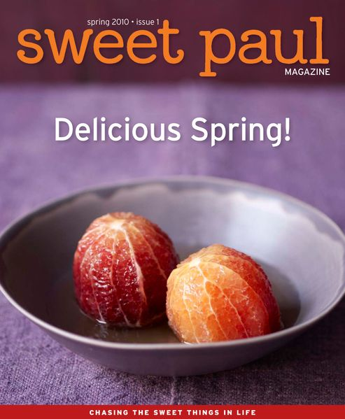 Sweet Paul Magazine - Spring 2010 - Front Cover