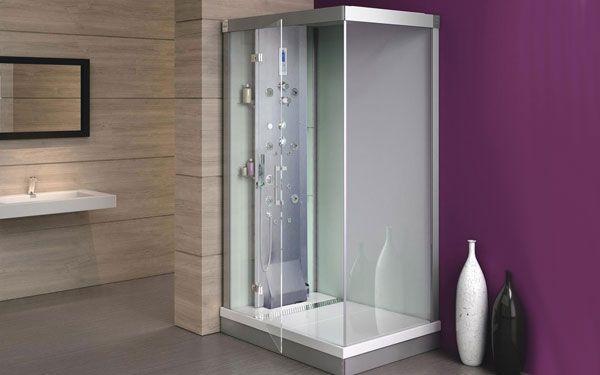 Cabine de douche complète Kinedouche 4000 de Kinedo avec puissant débit 5288€