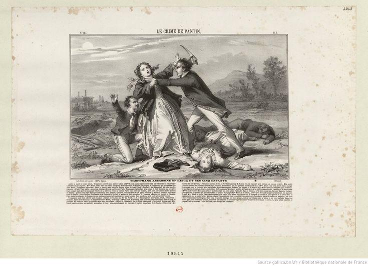 Troppmann assassine Mme Kinck et ses cinq enfants : [estampe]