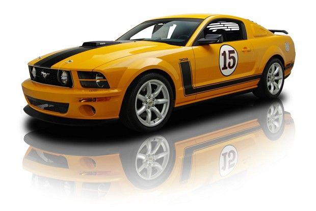 2007 Ford Saleen Mustang Parnelli Jones 302 V8 5 Speed