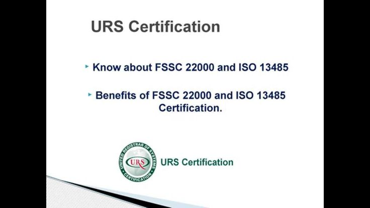 benefits of fssc 22000 and iso 13485 certification