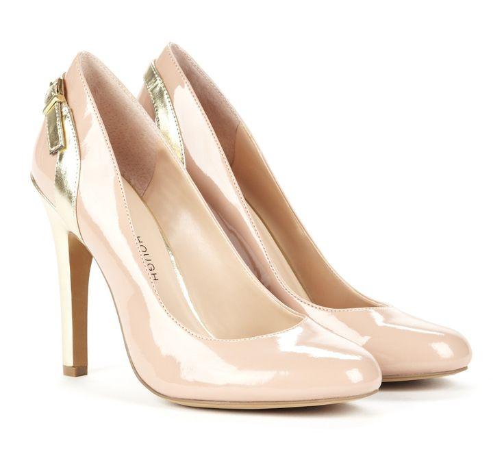 ballerina blush pumps