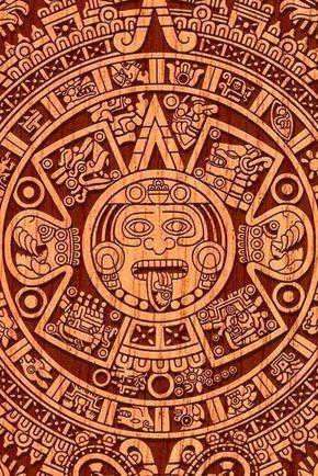 13 Geniales diseños prehispanicos para tu móvil | Los diseños de nuestra cultura prehispánica son impresionantes, tienen una calidad máxima y muchos de ellos aún no tienen explicación. #méxico #diseñografico #fondosdepantalla #azteca #colores #quetzalcoatl #ciudadesenmexico Maya Art, Art Chicano, Mayan Tattoos, Aztec Tattoo Designs, Aztec Wallpaper, Art Tribal, Aztec Calendar, Aztec Warrior, Mexico Art