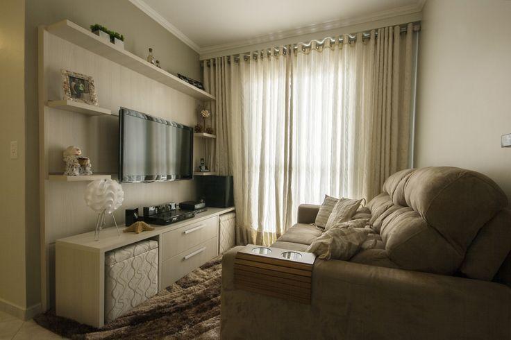 Reforma Em Sala Pequena ~ decoração sala em l apartamento  Pesquisa Google  Salas de estar