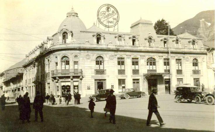 LA BOGOTÁ DE ANTAÑO: Hotel Regina (1936) - Publicación de Joselh Hómez.