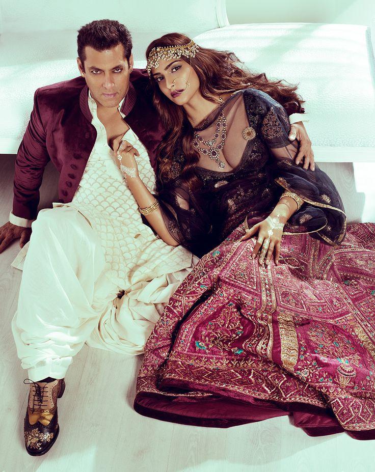 Bollywood, Tollywood & Más: Salman khan and Sonam Harpers bazaar bride 2015 photographer Norbert Kniat